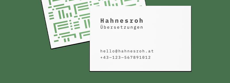 Abbildung - Visitenkarten
